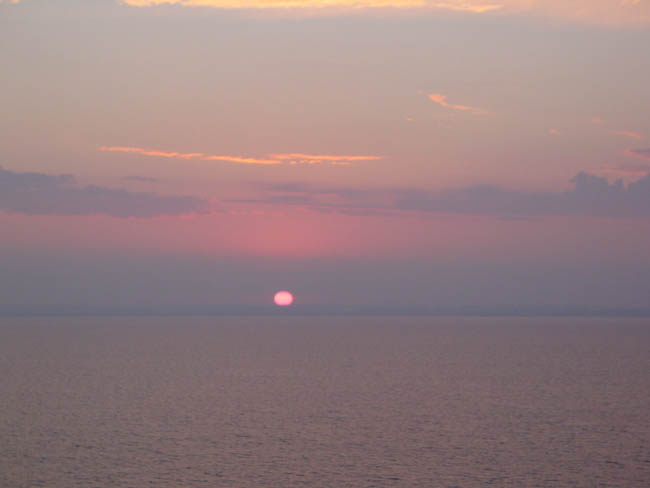 sunrise, continued
