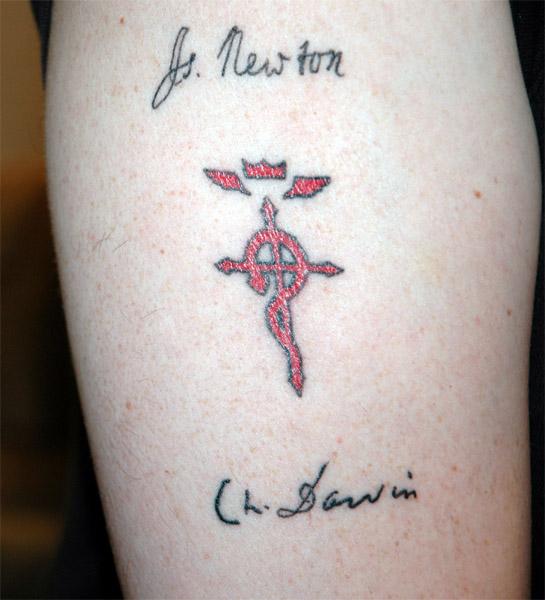 My alchemist tattoo
