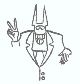 Augh!  it's mr. hell again!