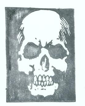 spooky skull!