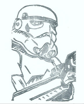 Trooper without a stamp
