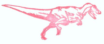 the fierce tyrannosaurus