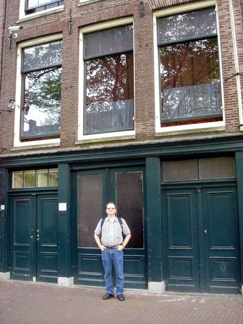Me at Anne Frank's