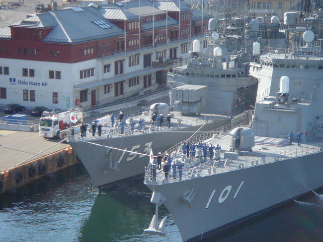 The navy!