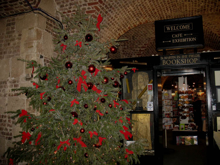 The tree in the crypt.